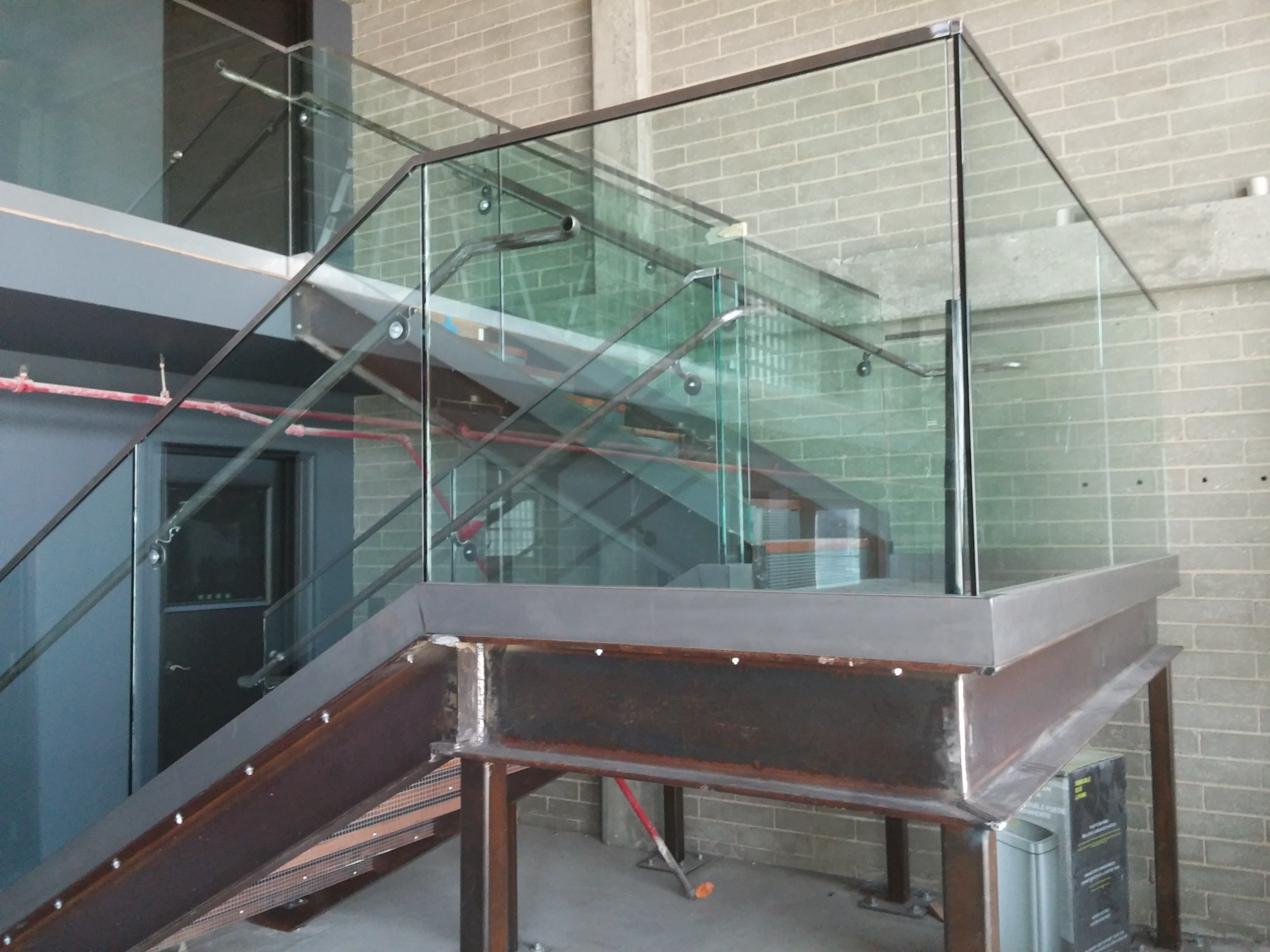 Glass Stair Railing Installation Long Beach